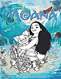 Moana Disney Portrait Coloring Book: Art Therapy - Including 25 coloring images by Selena Wilson