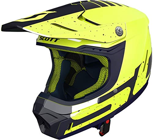 Scott 350 Evo Team MX Enduro - Casco para moto y bicicleta...