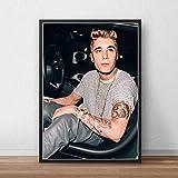 yitiantulong Justin Bieber Poster Leinwand