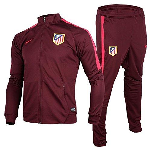 Nike ATM M NK Dry TRK Suit SQD K - Chándal Atlético de Madrid para Hombre, Color Morado,...