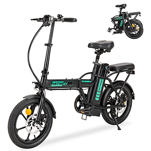 HITWAY Elektrofahrrad E Bike E Fahrrad Cityräder Faltbar, 7,5Ah Batterie, 250W Motor, Reichweite bis 45 km BK5-HW