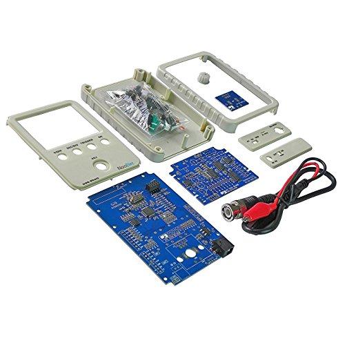 Kuman DSO Shell Osciloscopio DIY Kit with Open Source 2.4 Pulgadas de Color TFT Pantalla + Shell + DIY Parts + Sonda 15001K (SMD Pre-soldado)