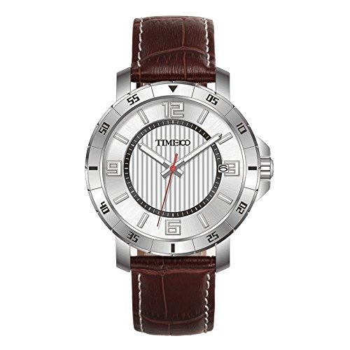 TIME100 W70109G.03A clásico Cuarzo del Reloj de los Hombres