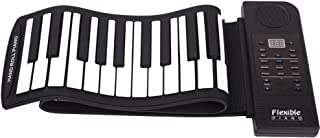 soft piano keyboard roll up