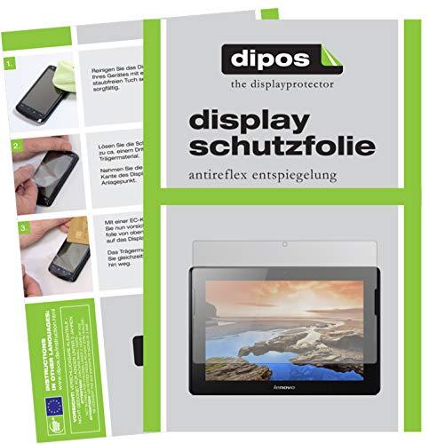 dipos I 2X Schutzfolie matt kompatibel mit Lenovo A10-70 Folie Bildschirmschutzfolie
