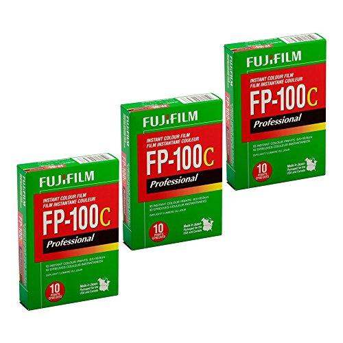 富士FP-100C专业速溶彩色胶卷3包(30张)
