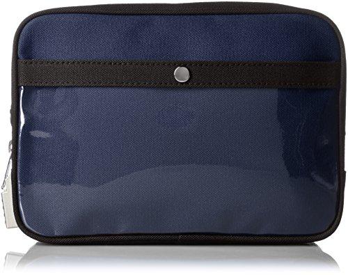 [サンエイ] 帆布メール用ポーチ(M) SED-1錠付 ブルー 18 cm 0.32kg PM-SED-03 コン