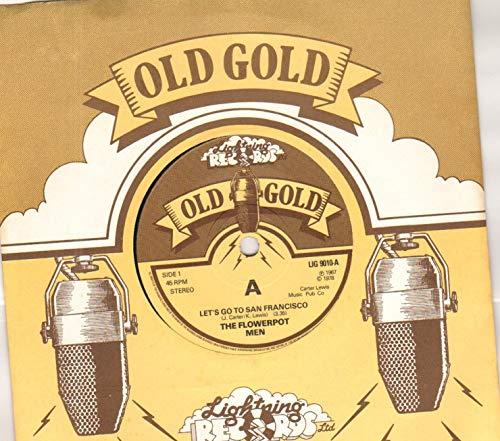 FLOWERPOT MEN - LET'S GO TO SAN FRANCISCO / SWEET BABY JANE - 7 inch vinyl / 45 record