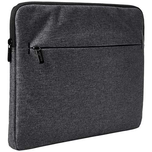 AmazonBasics – Laptop-Hülle mit Frontfach, 38 cm, grau