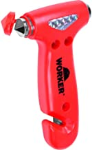 Martelo de Emergência Worker para Automóvel Vermelho - 964972