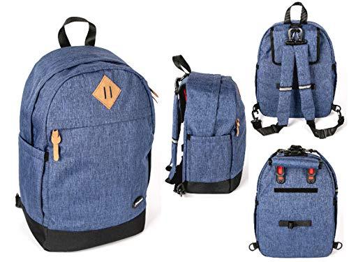 Haberland Fahrrad Rucksack/Gepäckträgertasche Lucky Active Plus blau