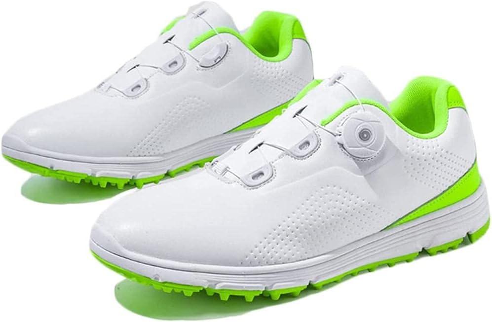 HUANYARI Golf Shoes Men s Sneakers Boston Mall Rotation Automatic Waterproof Popular