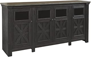 Ashley Furniture Signature Design - Tyler Creek Extra Large TV Stand - Farmhouse - Black