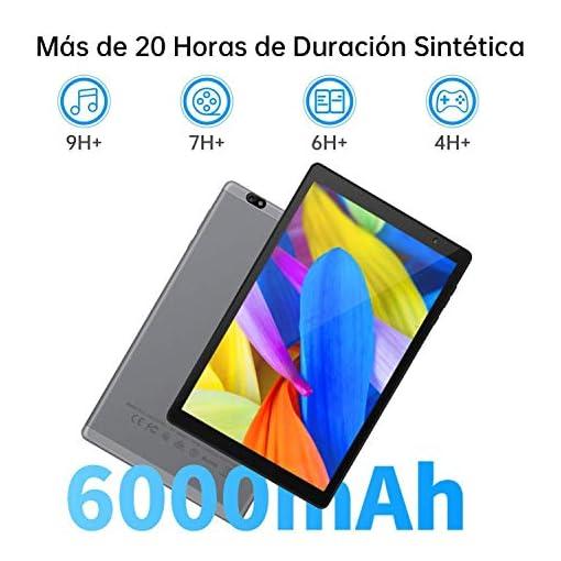 Tablet 10 Pulgadas Vankyo S20 Tableta de Procesador Octa-Core, 64GB ROM y 3G RAM, 8MP y 5MP Cámara, Android 9.0, WiFi… 3
