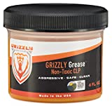 Grizzly Grease CLP | All-in-One Gun Cleaner, Lubricant, & Protectant | USDA Certified Bio-Based Gun Oil Alternative | Exceeds 5 MIL-SPEC Technical Standards | 4 Oz. Leak-Proof Container