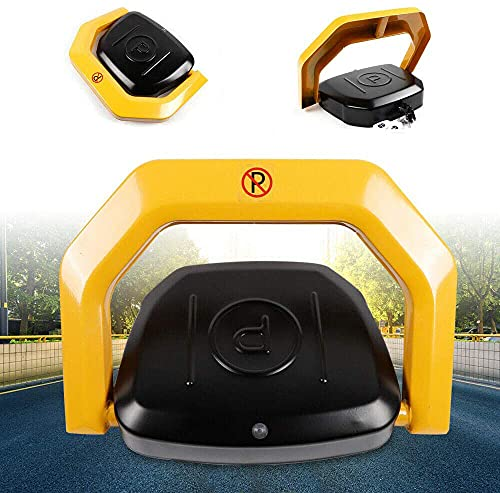 Bloqueo automático de aparcamiento con 2 mandos a distancia, barrera automática, herramienta con alarma