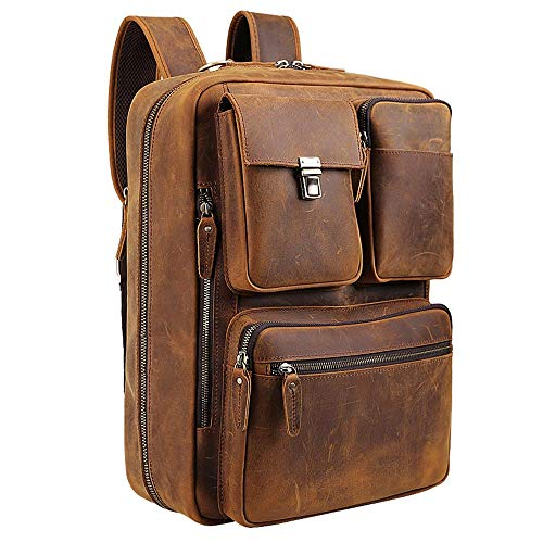 Tiding Leather Backpack