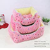 GOOCO Candy Color Kennel Dog Bed Modern Super Soft Warm Pet Puppy Pad Sleeping Pad Sleeper Warm and...