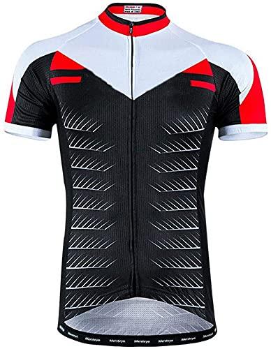 Maillot de ciclismo de manga corta para hombre, maillot de ciclismo de...