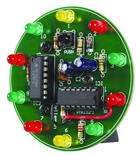 Velleman MK152 Spinning LED Wheel Mini Kit, Multi-Colour