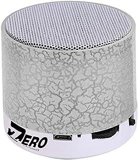 Zero Z101 Smart Colorful LED Light Mini Wireless Bluetooth Speaker Portable Stereo Support USB / TF / SD Card - White