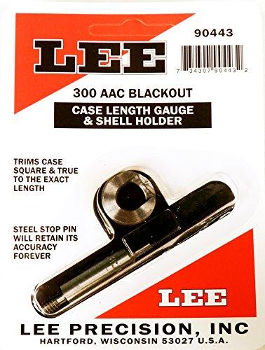 Lee Precision 90443 Galga Shell Holder Calibre 300 AAC Blk, Multicolor, Talla Única