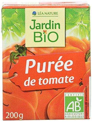 Jardin Bio Purée de Tomate 200 g - Lot de 16