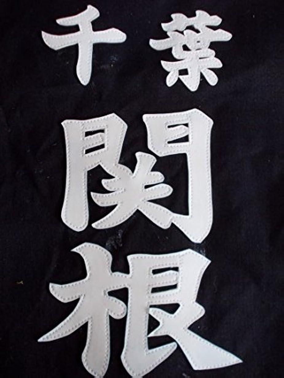 尊厳パトロン劣る剣道 ゼッケン(縫クラリ一ノ)楷書体