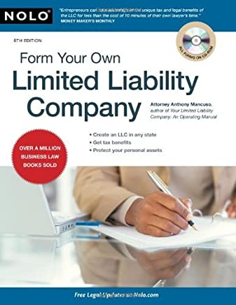 Form Your Own Limited Liability Company by Anthony Mancuso Attorney (2009-10-05)
