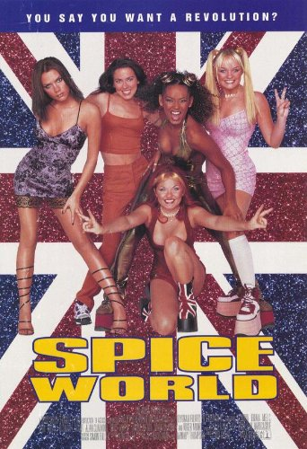 Spice World: The Movie Poster