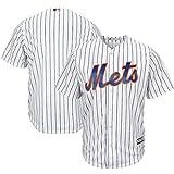 ZHONZZ Camiseta de Jersey de béisbol Profesional para Hombre, Mets de Nueva York -, Azul, Blanco,White,XL
