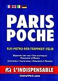 Plan de ville : Paris (en anglais, allemand, espagnol et italien)