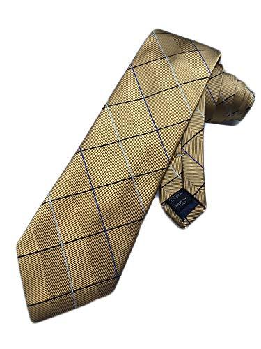 Jos. A. Bank Men's Silk Necktie Joseph A - Daffodil Gold - One Size Neck Tie