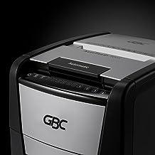 GBC Paper Shredder, Auto Feed+, 300 Sheet Capacity, Micro-Cut, Office Shredder, 300M (WSM1757609)