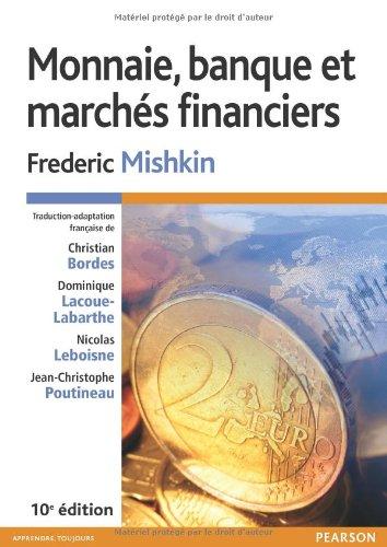 Monnaie, banque et marchés financiers...