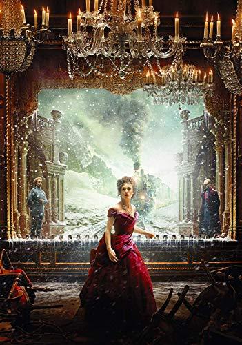 shensc 1000 Piezas de Rompecabezas para niños Adultos y ndash;Anna Karenina Movie Posters Jigsaw Puzzle Large Puzzle Game Juguetes Regalo 38X26Cm