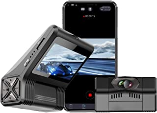 WOLFBOX Mini Dash Cam with WiFi, Hidden Design 1080P Dash Camera for Car,2.5