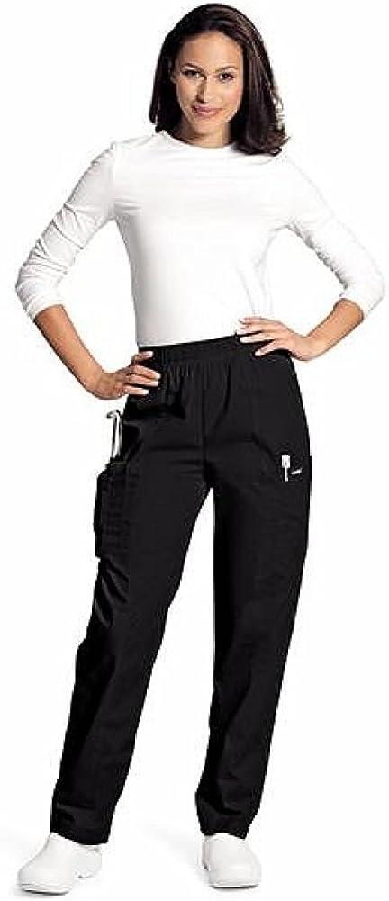Landau Women's Classic Fit Elastic Limited time cheap sale Pant Cargo Scrub Inexpensive Waist