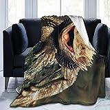 Tmvfpyr Bearded Dragon Blanket