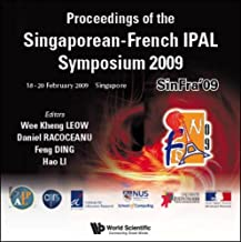 Proceedings of the Singaporean-French Ipal Symposium 2009 - Sinfra'09 (CD-Rom)