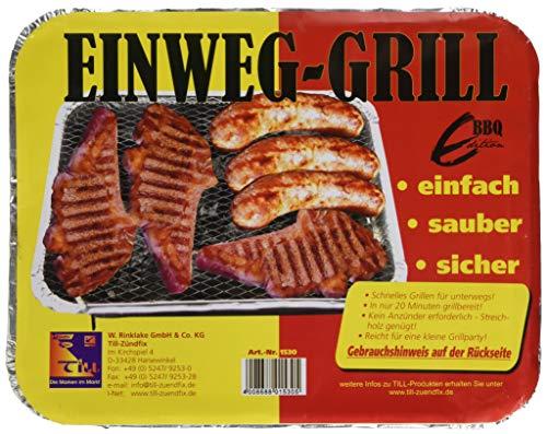 Till-Zündfix 1530 Wegwerp-grillset