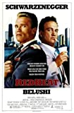 RED Heat - Arnold Schwarzenegger – Film Poster Plakat
