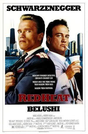 RED Heat - Arnold Schwarzenegger – Film Poster Plakat Drucken Bild – 43.2 x 60.7cm Größe Grösse Filmplakat