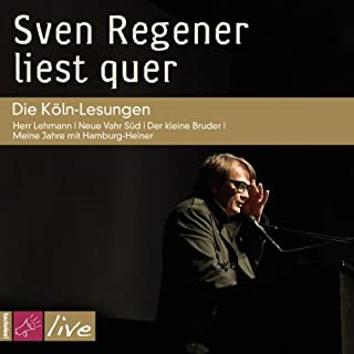 Sven Regener liest quer Titelbild