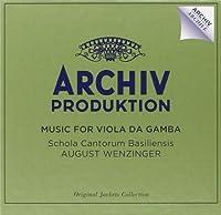 Music For Viola Da Gamba [4 CD] by August Wenzinger (2014-04-15)