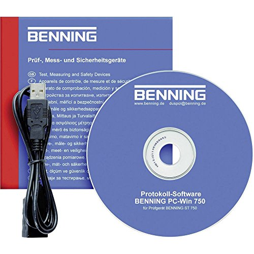 Benning Software PC Win ST 750 Software PC passend für BENNING ST 750