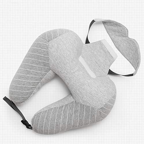 XIAMAZ kussen voor de nek van Bolle Comfort oogmasker, geschikt voor de slaap voor op reis-sokken, ontspannende verzorging van het lichaam voor de nek