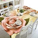 YQHWLKJ Neujahr Weihnachten Tischdecke Küche Esstisch Dekorationen Home Rechteckige Party Tischdecken Weihnachtsschmuck