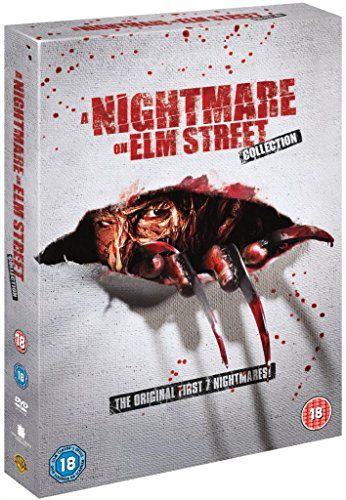 Nightmare on Elm Street Complete All Movies Film Collection DVD [8 Discs] Box Set Part 1, 2, 3, 4, 5, 6 + 7 + Extras