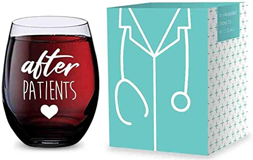 new arrival Stemless discount Wine Glass new arrival for Nurses and Doctors (After Patients) Made of Unbreakable Tritan Plastic - 16 ounces sale